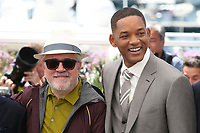PEDRO ALMODOVAR AND WILL SMITH - PHOTOCALL OF JURY AT THE 70TH FESTIVAL OF CANNES 2017