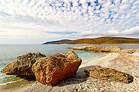The beach Zastani of Marmari in Evia, Greece