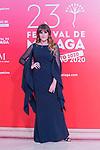 Rozalen during Photocall of presentation of Malaga Film Festival 2020. 21 August 2020. (Alterphotos/Francis Gonzalez)
