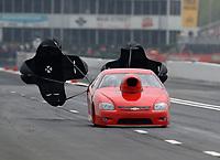 Apr 14, 2019; Baytown, TX, USA; NHRA mountain motor pro stock driver Rick Cowger during the Springnationals at Houston Raceway Park. Mandatory Credit: Mark J. Rebilas-USA TODAY Sports