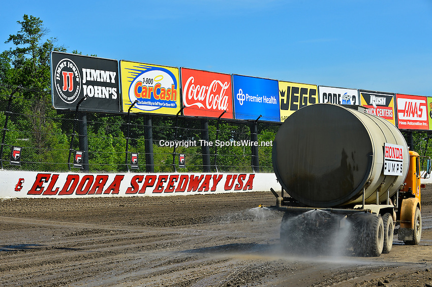 Jun 5, 2014; 3:51:53 PM; Rossburg, OH., USA; The 20th annual Dirt Late Model Dream XX in an expanded format for Eldora's $100,000-to-win race includes two nights of double features, 567 laps of action  Mandatory Credit:(thesportswire.net)