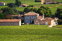 unknown chateau seen from Chateau Pavie Decesse. Do you know what this chateau is?? Saint Emilion Bordeaux Gironde Aquitaine France UNK