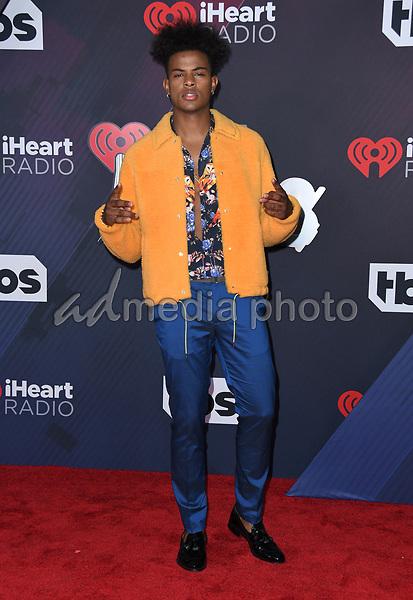 11 March 2018 - Inglewood, California - Trevor Jackson. 2018 iHeart Radio Awards held at The Forum. Photo Credit: Birdie Thompson/AdMedia