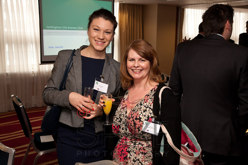 Cheryl English (left) of NCN and Gill Cooke of Nottingham City Council