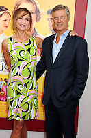 NEW YORK CITY, NY, USA - AUGUST 04: Lena Olin, Lasse Hallstrom at the World Premiere Of Dreamworks Pictures' 'The Hundred-Foot Journey' held at Ziegfeld Theatre on August 4, 2014 in New York City, New York, United States. (Photo by Celebrity Monitor)