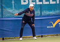 Amstelveen, Netherlands, 22 Augustus, 2020, National Tennis Center, NTC, NKR, National  Wheelchair Tennis Championships, Junior Boys single: Linesman<br /> Photo: Henk Koster/tennisimages.com
