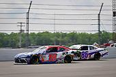 #18: Jeffrey Earnhardt, Joe Gibbs Racing, Toyota Supra iK9, #86: Brandon Brown, Brandonbilt Motorsports, Chevrolet Camaro ABS Vans
