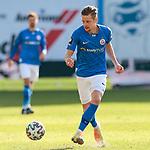 20.02.2021, xtgx, Fussball 3. Liga, FC Hansa Rostock - SV Waldhof Mannheim, v.l. Nico Neidhart (Hansa Rostock, 7) <br /> <br /> (DFL/DFB REGULATIONS PROHIBIT ANY USE OF PHOTOGRAPHS as IMAGE SEQUENCES and/or QUASI-VIDEO)<br /> <br /> Foto © PIX-Sportfotos *** Foto ist honorarpflichtig! *** Auf Anfrage in hoeherer Qualitaet/Aufloesung. Belegexemplar erbeten. Veroeffentlichung ausschliesslich fuer journalistisch-publizistische Zwecke. For editorial use only.
