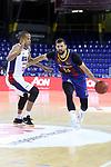 LLIGA NACIONAL CATALANA ACB 2020 AON.<br /> Barça vs Baixi Manresa: 92-82.<br /> Eulis Baez vs Nikola Mirotic.