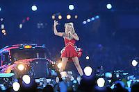 Spice Girls.Geri Halliwell aka Ginger Spice.Londra 12/08/2012 Olympic Stadium.London 2012 Olympic Games Closing Ceremony.Olimpiadi Londra 2012 Cerimonia d chiusura.Foto Insidefoto Giovanni Minozzi.