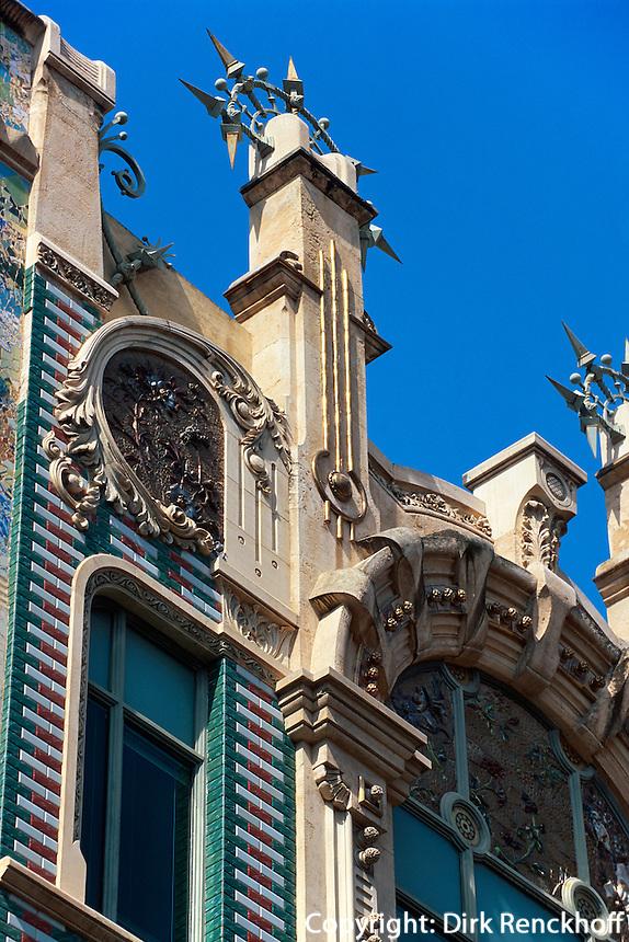 Spanien, Mallorca, Jugendstil-Haus Can Rei in  Palma de Mallorca