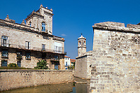Cuba, Castillo de la Real Fuerza in Habana, Unesco-Weltkulturerbe