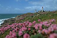 Europe/France/Bretagne/29/Finistère/Pointe Saint-Mathieu: Le phare, l'abbaye et sémaphore