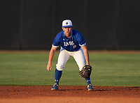 IMG Academy Ascenders second baseman Jack Thompson (6) during a game against the Montverde Academy Eagles on April 8, 2021 at IMG Academy in Bradenton, Florida.  (Mike Janes/Four Seam Images)