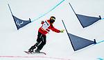 Michelle Salt, PyeongChang 2018 - Para Snowboard // Parasnowboard.<br /> Highlights of Team Canada during Para Snowboard competition // Faits saillants d'Équipe Canada lors d'une compétition de parasnowboard. 16/03/2018.