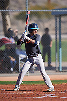 Ross Panlasigui (48), from Lahaina, Hawaii, while playing for the Giants during the Under Armour Baseball Factory Recruiting Classic at Red Mountain Baseball Complex on December 29, 2017 in Mesa, Arizona. (Zachary Lucy/Four Seam Images)