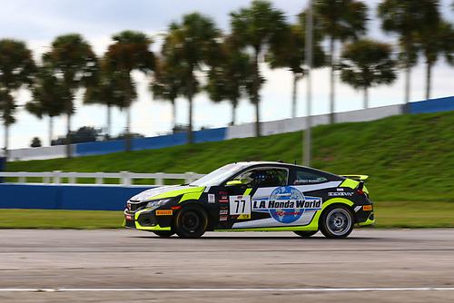 LA Honda World Racing Honda Civic Si:Mario Biundo