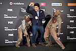 Actor Josh McDermitt attends The Walking Dead: 6th Season presentation in Madrid, Spain. February 23, 2016. (ALTERPHOTOS/Victor Blanco)