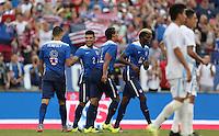 Nashville, Tenn. - Friday, July 3, 2015: The US Men's National team go up 2-0 over Guatemala in an international friendly match at Nissan stadium.