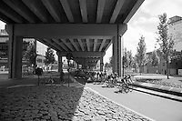 peloton 'Under the Bridge'<br /> <br /> 50th GP Jef Scherens 2016
