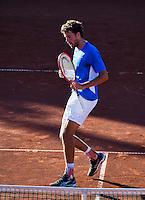 Netherlands, The Hague, Juli 21, 2015, Tennis,  Sport1 Open, Robin Haase (NED)<br /> Photo: Tennisimages/Henk Koster