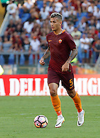 Calcio, Serie A: Roma vs Udinese. Roma, stadio Olimpico, 20 agosto 2016.<br /> Roma's Leandro Paredes in action during the Italian Serie A football match between Roma and Udinese at Rome's Olympic stadium, 20 August 2016. Roma won 4-0.<br /> UPDATE IMAGES PRESS/Riccardo De Luca