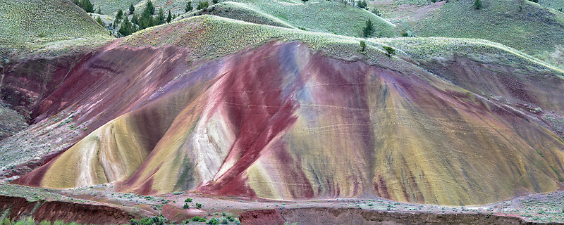 Painted hills. John Day Foissil Beds National Monument. Oregon