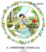 Ingrid, CHILDREN, KINDER, NIÑOS, paintings+++++,USISRW06S,#K# ,vintage
