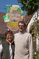 Pierre-Paul and Anne Humbrecht owner dom g humbrecht pfaffenheim alsace france