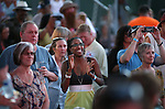 The crowd enjoys the 8th Annual Concert Under the Stars in Carson City, Nev., on Thursday, July 14, 2016.<br />