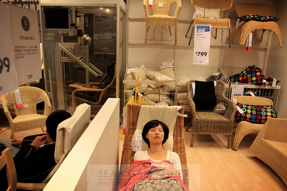 CHINA. The Swedish furniture store, IKEA, in China's capital, Beijing. 2009