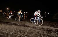 Philipp Walsleben (DEU/BKCP-Powerplus) leading ahead of Tom Meeusen (BEL/Telenet-Fidea) & Wout Van Aert (BEL/Vastgoedservice-Golden Palace)<br /> <br /> Zilvermeercross 2014