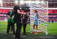London, ENG - May 13, 2017: Manchester City defeated Birmingham City 4-1 during the Women's FA Cup at Wembley Stadium.