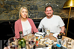 Nicole O'Sullivan and Declan O'Brien enjoying the evening in Croi on Friday.
