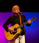 Justin Hayward of the Moody Blues performs in concert.