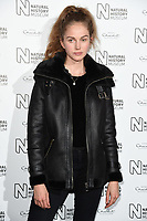 Lucy Chappell<br /> arriving for the Natural History Museum Ice Rink launch party 2017, London<br /> <br /> <br /> ©Ash Knotek  D3340  25/10/2017