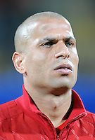 Wael Gomaa of Egypt. USA defeated Egypt 3-0 during the FIFA Confederations Cup at Royal Bafokeng Stadium in Rustenberg, South Africa on June 21, 2009.