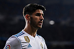 Marco Asensio Willemsen of Real Madrid reacts during the La Liga 2017-18 match between Real Madrid and SD Eibar at Estadio Santiago Bernabeu on 22 October 2017 in Madrid, Spain. Photo by Diego Gonzalez / Power Sport Images