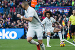 Real Madrid's Marcelo Vieira during spanish La Liga match between Futbol Club Barcelona and Real Madrid  at Camp Nou Stadium in Barcelona , Spain. Decembe r03, 2016. (ALTERPHOTOS/Rodrigo Jimenez)