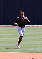 Luis Matos - San Francisco Giants 2021 spring training (Bill Mitchell)