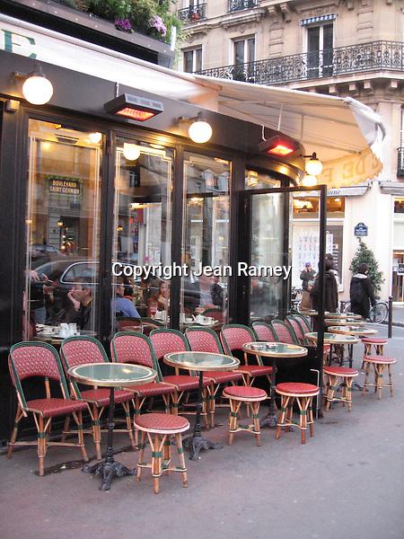Parisian Cafe (Color)
