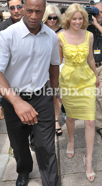 **ALL ROUND PICTURES FROM SOLARPIX.COM**.**SYNDICATION RIGHTS FOR UK AND SPAIN ONLY**.Elizabeth Banks leaving the hotel Martinez in Cannes during the 62ndInternational Film Festival. Cannes, France. 14 May 2009..This pic: Elizabeth Banks..JOB REF:  8999 CPR (Grimm) DATE: 14_05_2009.**MUST CREDIT SOLARPIX.COM OR DOUBLE FEE WILL BE CHARGED**.**ONLINE USAGE FEE GBP 50.00 PER PICTURE - NOTIFICATION OF USAGE TO PHOTO @ SOLARPIX.COM**.**CALL SOLARPIX : +34 952 811 768 or LOW RATE FROM UK 0844 617 7637**