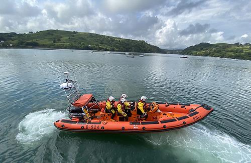 Union Hall RNLI's  Atlantic 85 Lifeboat; Christine and Raymond Fielding