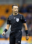 St Johnstone v Galatasaray…12.08.21  McDiarmid Park Europa League Qualifier<br />Referee Andris Treimanis<br />Picture by Graeme Hart.<br />Copyright Perthshire Picture Agency<br />Tel: 01738 623350  Mobile: 07990 594431