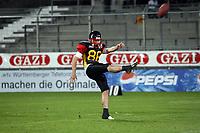 Punt von Pascal Meier (D)<br /> Länderspiel Deutschland vs. Schweden<br /> *** Local Caption *** Foto ist honorarpflichtig! zzgl. gesetzl. MwSt. Auf Anfrage in hoeherer Qualitaet/Aufloesung. Belegexemplar an: Marc Schueler, Am Ziegelfalltor 4, 64625 Bensheim, Tel. +49 (0) 151 11 65 49 88, www.gameday-mediaservices.de. Email: marc.schueler@gameday-mediaservices.de, Bankverbindung: Volksbank Bergstrasse, Kto.: 151297, BLZ: 50960101