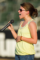 at Fieldcrest Cannon Stadium June 24, 2010, in Kannapolis, North Carolina.  Photo by Brian Westerholt / Four Seam Images
