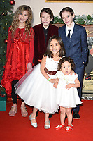 "Kitty Peterkin, Riley White, Lochlin White, <br /> arriving for the ""Surviving Christmas with the Relatives"" premiere at the Vue Leicester Square, London<br /> <br /> ©Ash Knotek  D3461  21/11/2018"