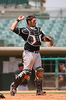July 17 2008: Tyler LaTorre of the San Jose Giants during game against the Lancaster JetHawks at Clear Channel Stadium in Lancaster,CA.  Photo by Larry Goren/Four Seam Images