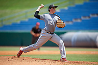 Max Miller (22) of Cathedral Catholic High School in Carlsbad, CA during the Perfect Game National Showcase at Hoover Metropolitan Stadium on June 18, 2020 in Hoover, Alabama. (Mike Janes/Four Seam Images)