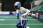 Frisco, Texas, July 9: Frisco Fighters v Iowa Barnstormers on July 9, 2021 at Comerica Center in Frisco, Texas. Photo:Rick Yeatts Photography/ Roger Steinman